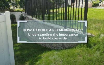 Building a Retaining Wall: