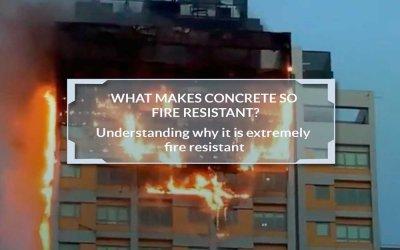 Is Concrete Fire Resistant?