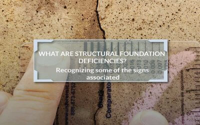Structural Foundation Deficiency